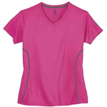 Green Layer Womens Greenlayer Women'S Evolution Short Sleeve Tee  Casual  T-Shirt - Evolution Womens Pink T-shirt