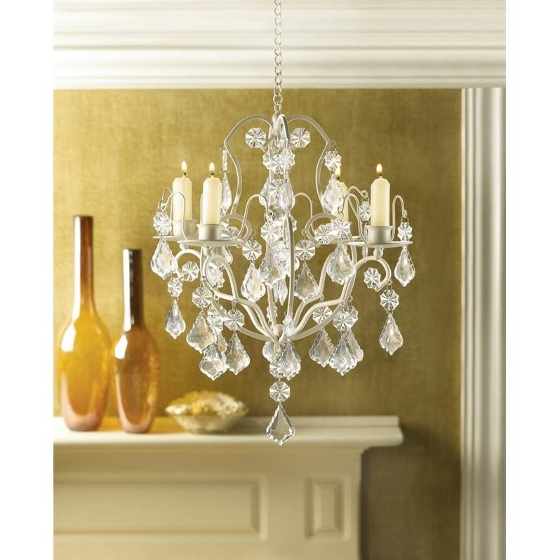 Zingz and Thingz Baroque Chandelier in Ivory by Zingz & Thingz