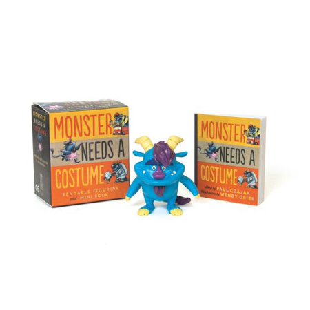 Monster Needs a Costume Bendable Figurine and Mini