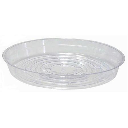 Curtis Wagner Plastics CW-1000N Soucoupe v-g-tale en plastique 10 po, transparent - Paquet de 50 - image 1 de 1