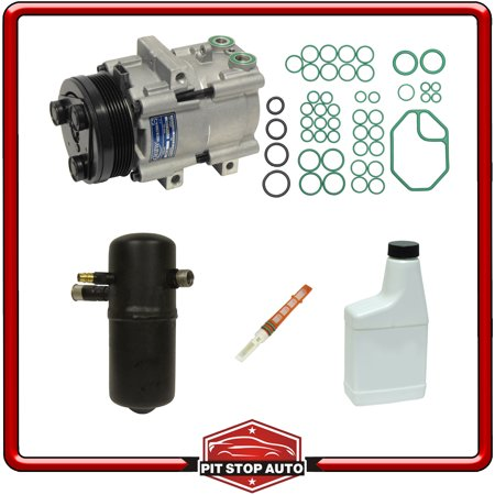 New A/C Compressor and Component Kit 1051886 - Town Car Grand Marquis Crown Vic Mercury Grand Marquis A/c Condenser