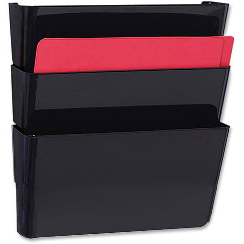 Sparco Stak-A-File Vertical Filing System, 3 pack