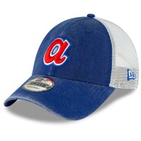Atlanta Braves New Era Cooperstown Collection 1985 Trucker 9FORTY Adjustable Hat - Royal - OSFA