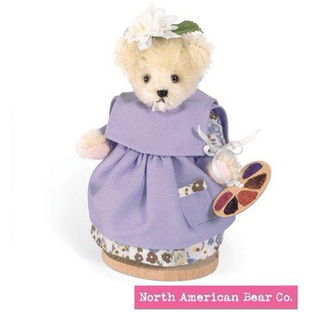 Muffy Vanderbear Mohair Miniature Gibearny by North American Bear - Mini Miniature Mohair