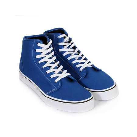 Vans Mens 106 Hi Canvas Skate Sneakers - Unusual Vans Shoes