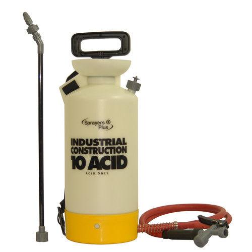 Sprayers Plus CS10A 1 Gallon Industrial Acid Handheld Compression Sprayer by
