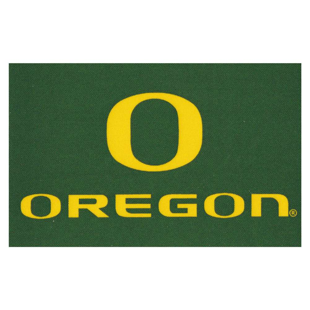 Oregon Ducks Stick-on Cloth Flag Decal