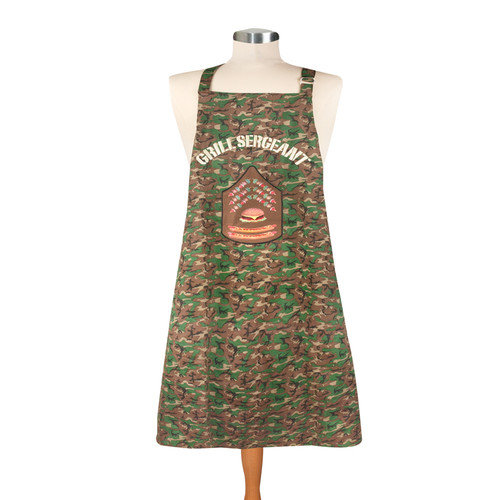 Manual Woodworkers & Weavers Grill Sergeant Men's Apron