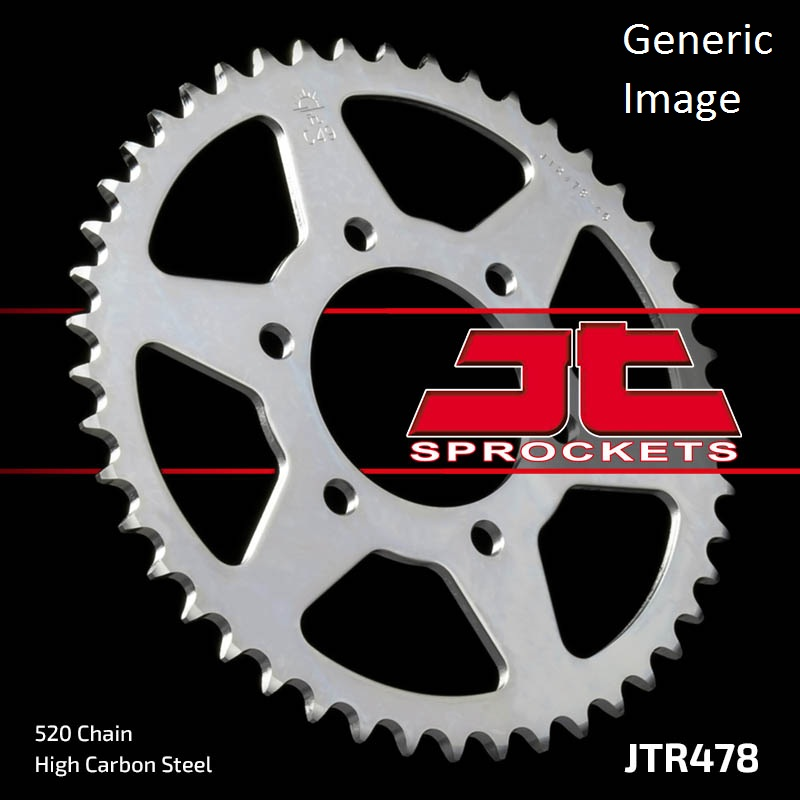 JT USA Steel Rear Sprocket 45T for Street KAWASAKI ZX600G...