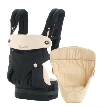 Ergobaby Bundle: All Carry Pos 360 Baby Carrier/Easy Snug