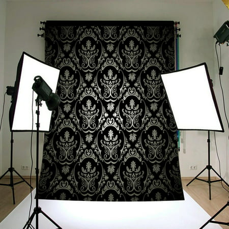 NK HOME Studio Photo Video Photography Backdrops Vinyl Fabric Christmas Holiday Party Decorations Background Screen Props 5x7ft 40+ Colors](Vip Backdrop)