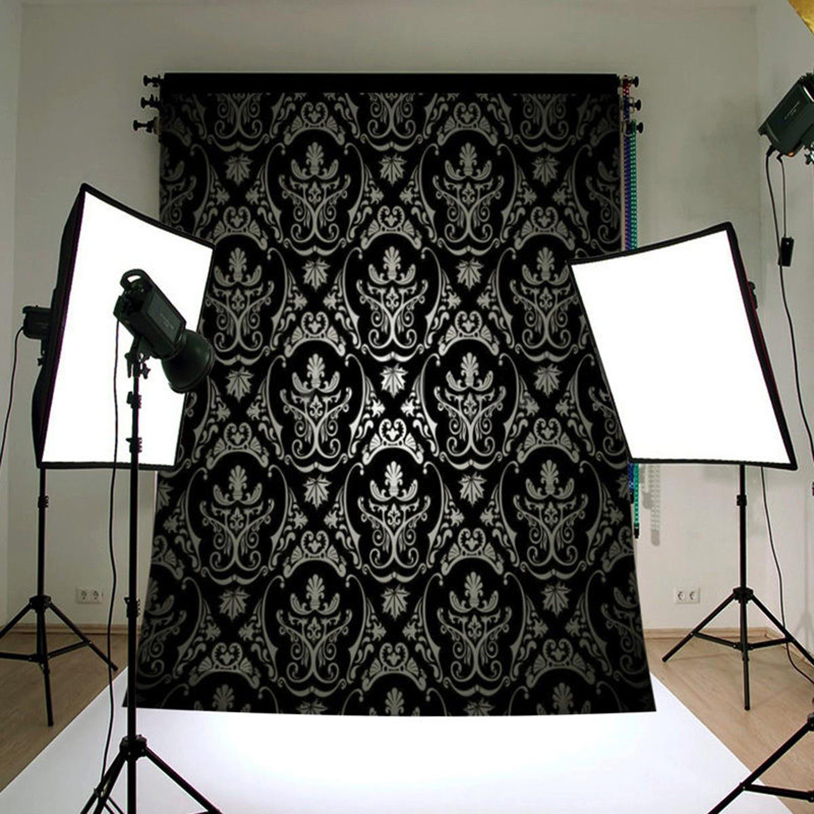 NK HOME Studio Photo Video Photography Backdrops Vinyl Fabric Christmas Holiday Party Decorations Background Screen Props 5x7ft 40+ Colors