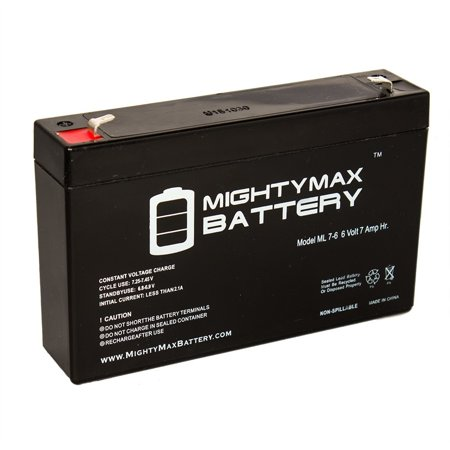 6V 7Ah SLA Battery Replaces Bigfoot Monster Jeep - Jeep Battery