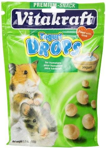 Vitakraft Drops Yogurt Dry Hamster Treat, 5.3 Oz by VITAKRAFT SUN SEED, INC.