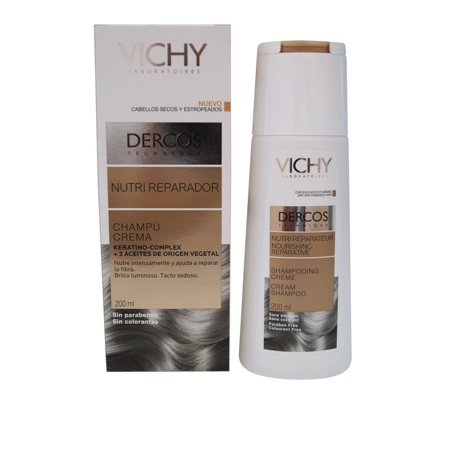 Vichy Decros Nourishing Cream Shampoo for Dry or Damaged Hair 200 ml