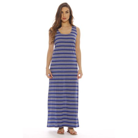 903c2836db4a Just Love - Plus Size Summer Dresses / Maxi Dress (Royal, 1X ...