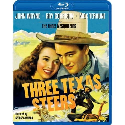 Three Texas Steers (1939) (Blu-ray) (Full Frame)