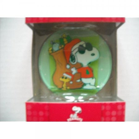 Peanuts Joe Cool Snoopy Christmas Ornament
