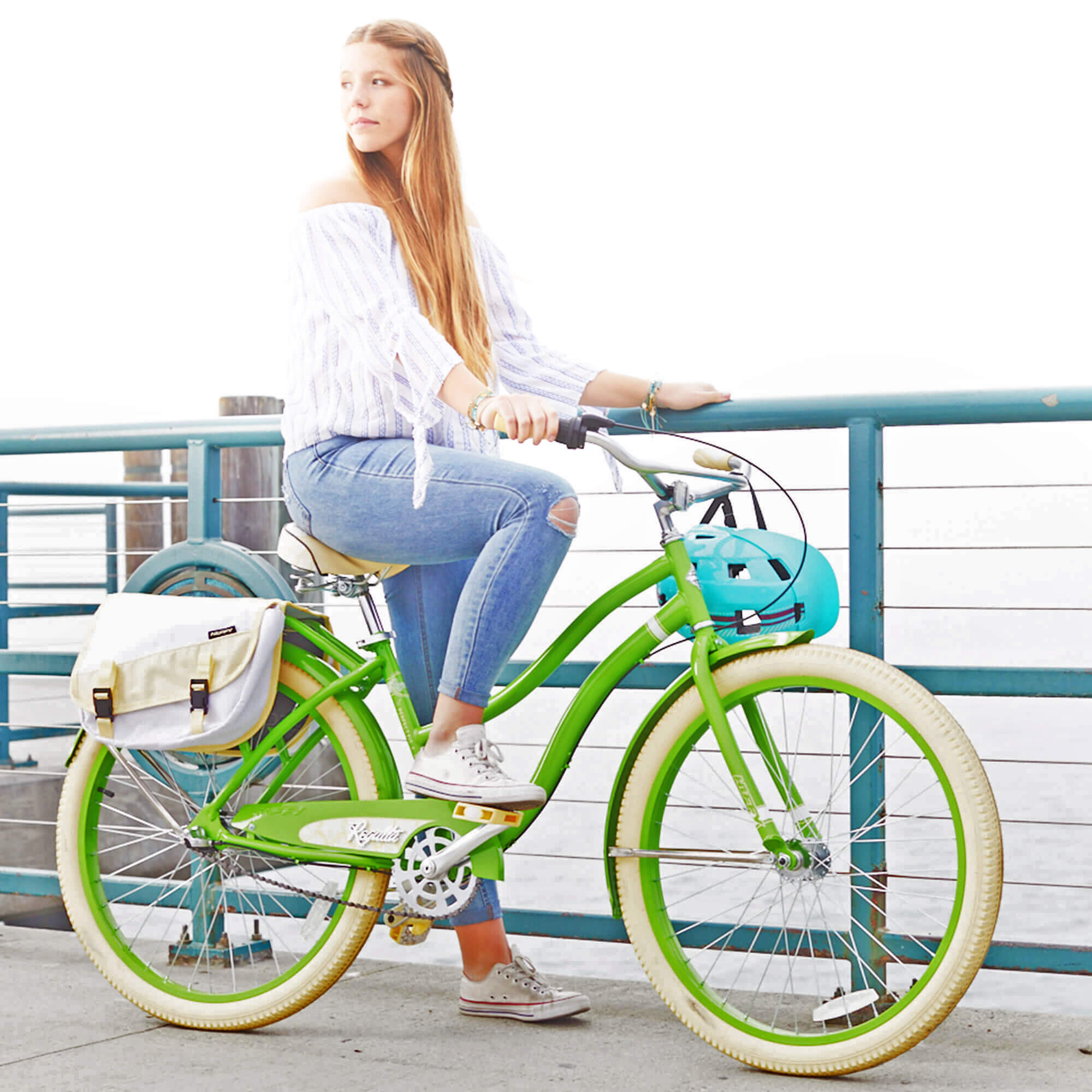 """Huffy 26"""" Women's Regatta 3-Speed Cruiser Bike with Perfect Fit Frame by Huffy"""