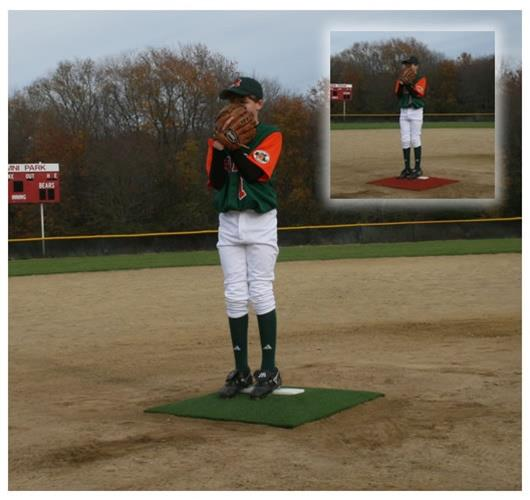 Pro Mounds Training Mound-Color:Green