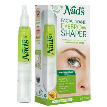 Nad's Women's Eyebrow Shaper Hair and Removal Facial Wand 0.2