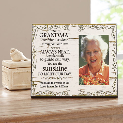 """Personalized You are the Sunshine Frame, Our, 8"""" x 10"""""""