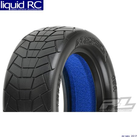 2wd Front Tire (Proline 826817 Inversion 2.2 Indoor 2WD Buggy Front Tires MC Clay w/ closed cell foam (2pcs) PRO826817 )