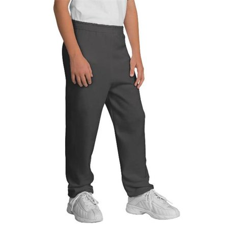 Port & Company® - Youth Core Fleece Sweatpant.  Pc90yp Charcoal M - image 1 of 1