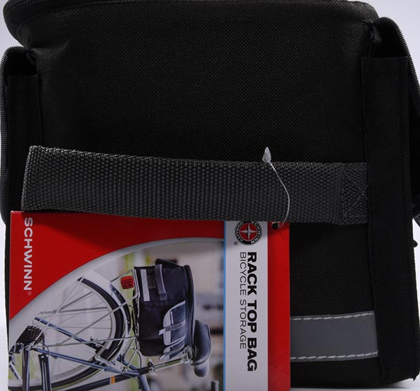Schwinn Racktop Bag, Black