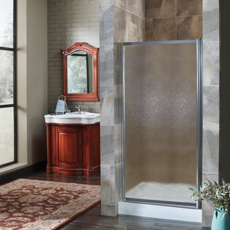 Foremost Tdsw3565 Ob Glass 33w X 65h In Obscure Glass Shower Door