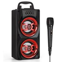 Deals on Portable Bluetooth Subwoofer Wireless Outdoor/Indoor Speakers