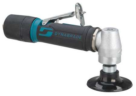 DYNABRADE 48531 Right Angle Air Disc Sander, Ind, 0.4 HP by Dynabrade