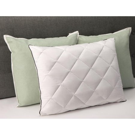 comfort revolution plush quilted down and memory foam bed pillow 20 x 26 - Comfort Revolution Pillow