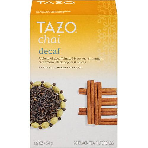 Tazo Decaf Chai Spice Black Tea, 20 filterbags