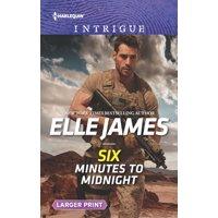 Mission: Six: Six Minutes to Midnight (Paperback)(Large Print)