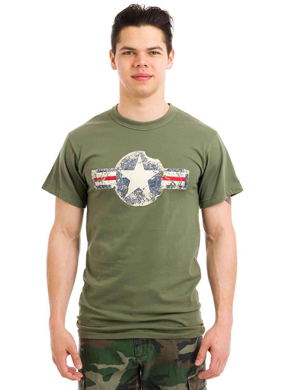 2bd71812 Rothco Vintage Army Air Corps T-Shirt - Olive Drab, 3X-Large