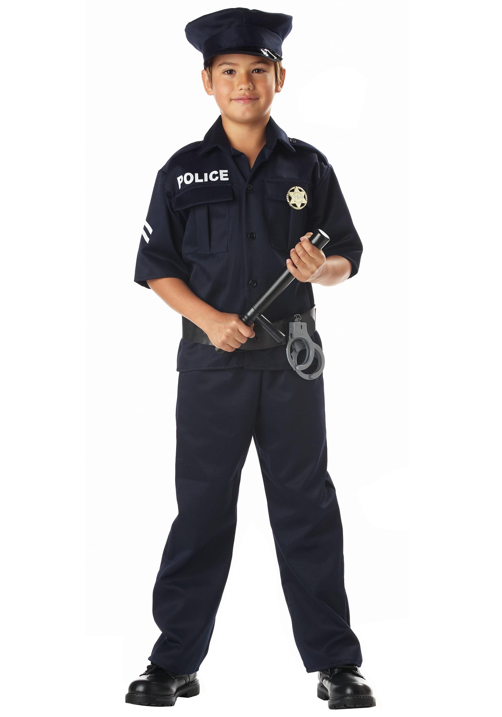 Kid\u0027s Police Costume