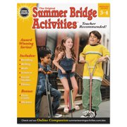 Carson-Dellosa Publishing Summer Bridge Activities, Grades 3-4