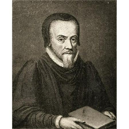 Posterazzi DPI1857424LARGE Richard Hooker 1554-1600. Renaissance English Preacher & Author From A Rare Print by Hollar Poster Print, Large - 26 x 32 - image 1 de 1