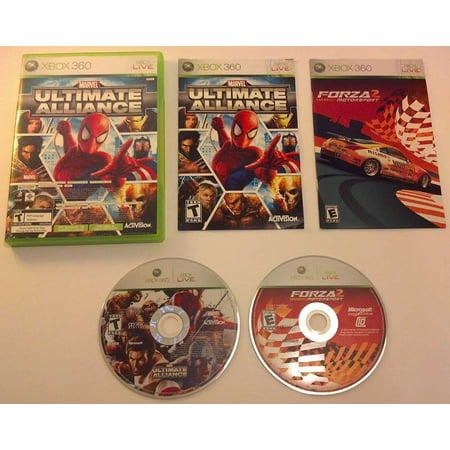 Marvel Ultimate Alliance / Forza Motorsport 2 Double Pack Xbox