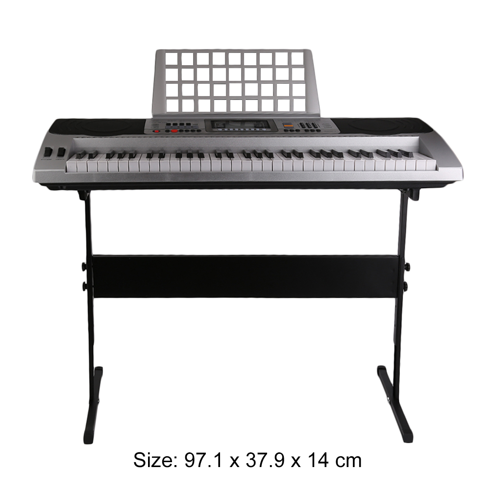 2017 Updated Universal Instrument LCD Display Electronic Organ 61 Key Music Keyboard... by