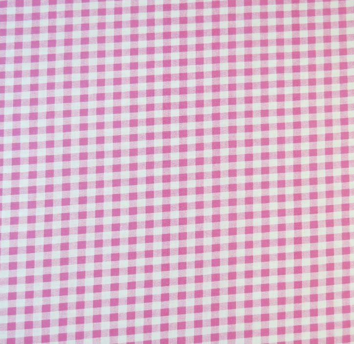 SheetWorld Fitted Sheet (Fits BabyBjorn Travel Crib Light) - Pink Gingham Check