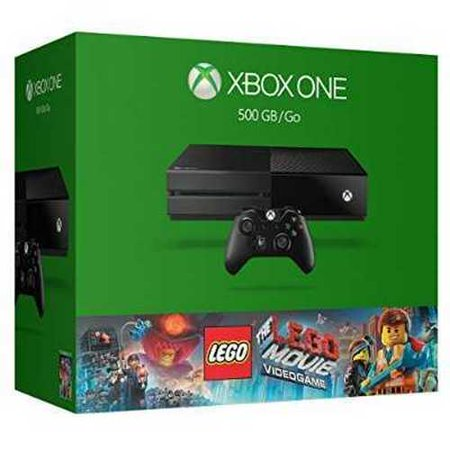 Refurbished Xbox One 500Gb Console   The Lego Movie Videogame Bundle