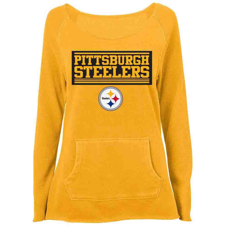 NFL Pittsburgh Steelers Girls Fleece Top