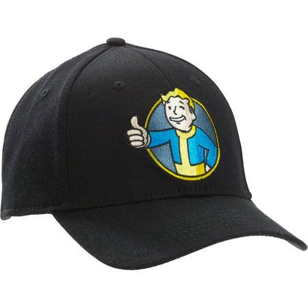 Fallout - Men s Fallout Vault Boy Hat - Walmart.com a1bfb7c36568