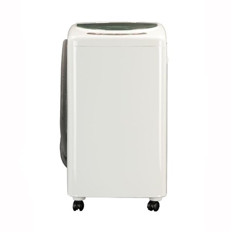 haier 1 0 cubic foot portable compact electronic wash machine white hlp21n. Black Bedroom Furniture Sets. Home Design Ideas