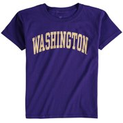Washington Huskies Fanatics Branded Youth Basic Arch T-Shirt - Purple
