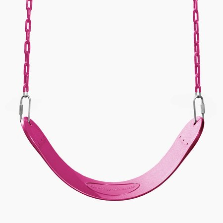 Swing-N-Slide Pink Swing Seat with Coated Chains