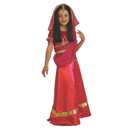 Halloween Kids Bollywood Princess Child Costume - Bollywood Costume Ideas
