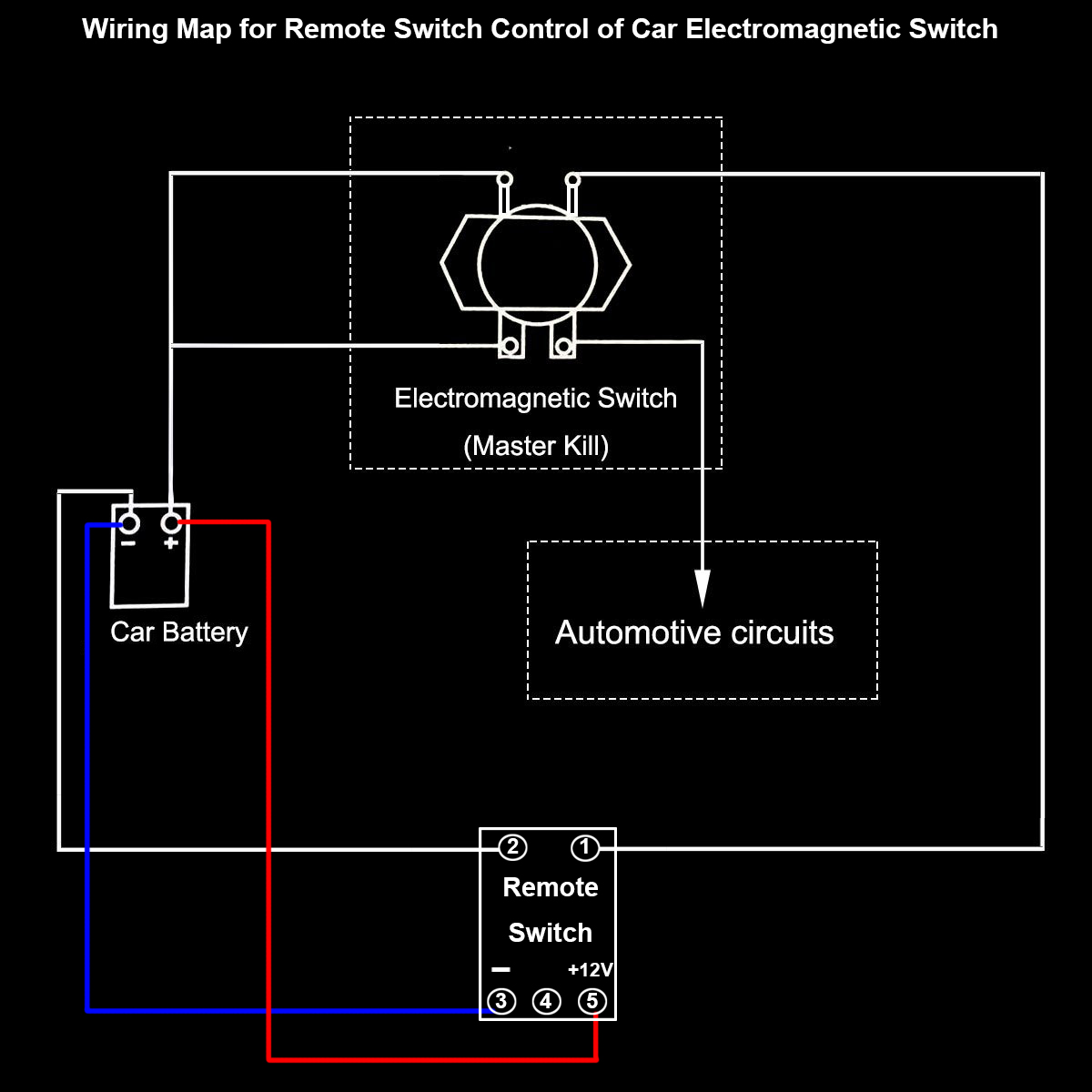 Car auto remote control battery switch disconnect anti theft e car auto remote control battery switch disconnect anti theft e kylin dc 24v automobile electromagnetic solenoid valve power switch remote control asfbconference2016 Images